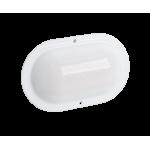 ЖКХ овал матовый, 5 Вт, светодиодный светильник с акустическим датчиком