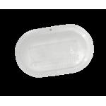 ЖКХ овал микропризма, 8 Вт, светодиодный светильник с акустическим датчиком