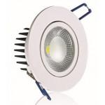 Точечные светодиодные светильники споты  DCO-D88-5 4200К встраиваемые круглые для подвесных потолков
