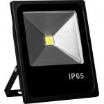 SFL70-50, Прожектор черный прямоугольный 50W, 6400K, IP65