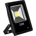 SFL70-20, Прожектор черный прямоугольный 20W, 6400K, IP65