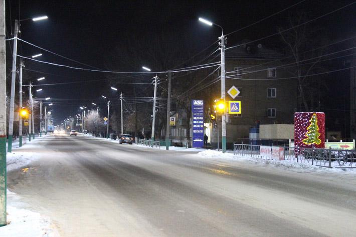 Уличные светильники программа Светлый город Подмосковье