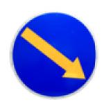 Табло информационное светодиодное направление объезда типа ТОП