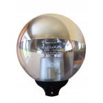 НТУ 01-150-406 серебр. зеркало/прозрачный