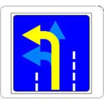 """Светодиодные дистанционно-управляемые дорожные знаки """"Направление движения"""""""