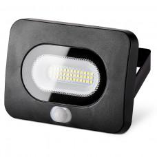 Светодиодный прожектор WFL-20W/05s с датчиком движения 5500K 20 Вт LED IP65 1600 Лм