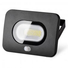 Светодиодный прожектор WFL-30W/05s с датчиком движения 5500K 30 Вт LED IP65 2400 Лм