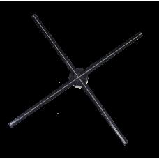 Голографический 3D вентилятор 85 см,  HD, WIFI