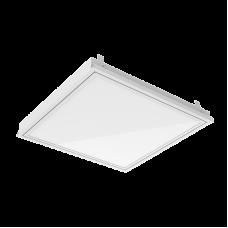 """Светодиодный светильник """"ВАРТОН"""" для потолка Cesal 600*600*62 36 ВТ 4000К IP40 с функцией аварийного освещения"""