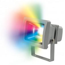 Прожектор светодиодный ULF-S01-10W RGB IP65 110-240V