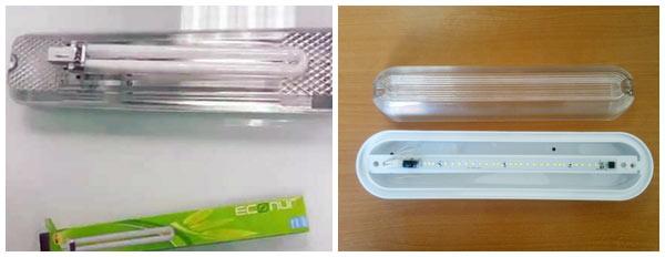 Светодиодные или люминесцентные светильники для ЖКХ